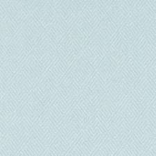 Seafoam Geometric Drapery and Upholstery Fabric by Duralee