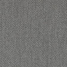 Pewter Geometric Drapery and Upholstery Fabric by Duralee
