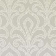 Dove Damask Drapery and Upholstery Fabric by Duralee