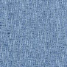 Azure Herringbone Drapery and Upholstery Fabric by Duralee
