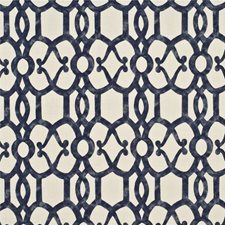 Indigo Drapery and Upholstery Fabric by Threads
