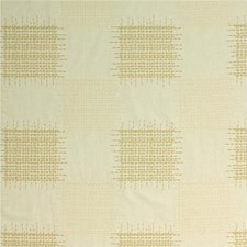 Ivory/Biscuit Embroidery Drapery and Upholstery Fabric by Threads