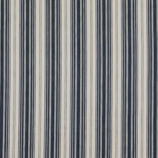 Indigo Stripes Drapery and Upholstery Fabric by Threads
