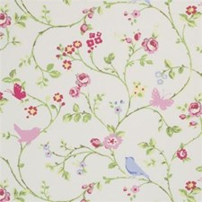 Chintz Animal Drapery and Upholstery Fabric by Clarke & Clarke
