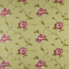 Parsley Embroidery Drapery and Upholstery Fabric by Clarke & Clarke
