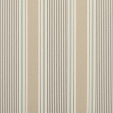 Surf Stripe Drapery and Upholstery Fabric by Clarke & Clarke