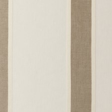 Ivory Stripes Drapery and Upholstery Fabric by Clarke & Clarke