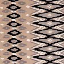 Charcoal Diamond Drapery and Upholstery Fabric by Clarke & Clarke