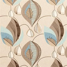 Mineral Abstract Drapery and Upholstery Fabric by Clarke & Clarke