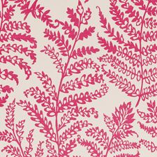 Raspberry Large Scale Drapery and Upholstery Fabric by Clarke & Clarke