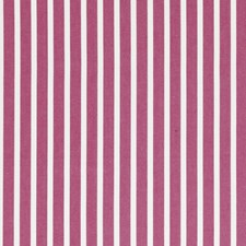 Raspberry Stripes Drapery and Upholstery Fabric by Clarke & Clarke