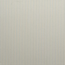Aqua Stripes Drapery and Upholstery Fabric by Clarke & Clarke