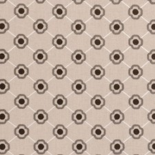 Natural Diamond Drapery and Upholstery Fabric by Clarke & Clarke