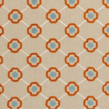 Summer Diamond Drapery and Upholstery Fabric by Clarke & Clarke