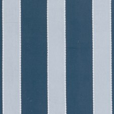 Blue Stripes Drapery and Upholstery Fabric by Clarke & Clarke