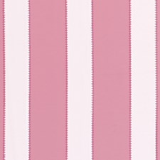 Pink Stripes Drapery and Upholstery Fabric by Clarke & Clarke