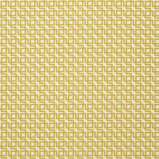 Chartreuse Abstract Drapery and Upholstery Fabric by Clarke & Clarke