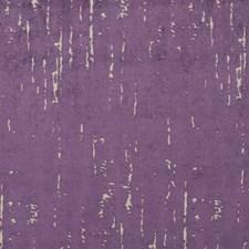 Purple Textured Velvet Upholstery And Drapery Fabric