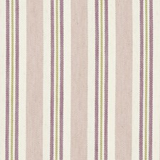 Damson/Heather Stripes Drapery and Upholstery Fabric by Clarke & Clarke