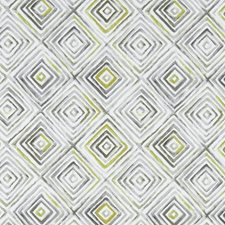 Chartreuse/Charcoal Drapery and Upholstery Fabric by Clarke & Clarke