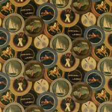 Woodsmoke Velvet Drapery and Upholstery Fabric by Mulberry Home