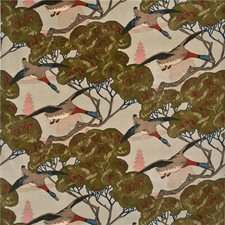 Sky Animal Drapery and Upholstery Fabric by Mulberry Home