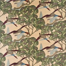 Camel Animal Drapery and Upholstery Fabric by Mulberry Home