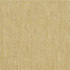 Sand Herringbone Drapery and Upholstery Fabric by Mulberry Home