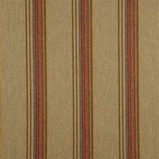 Sage/Sand/Wine Stripes Drapery and Upholstery Fabric by Mulberry Home
