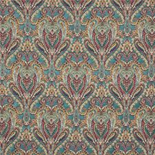 Teal Weave Drapery and Upholstery Fabric by Mulberry Home