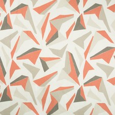 Cinnabar Geometric Drapery and Upholstery Fabric by Kravet