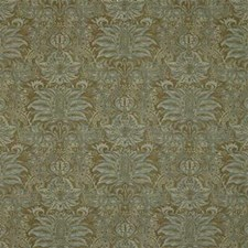 Brown/Blue Print Drapery and Upholstery Fabric by Kravet