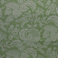 Green/Beige Botanical Drapery and Upholstery Fabric by Kravet