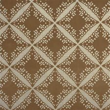 Mocha Print Drapery and Upholstery Fabric by Groundworks