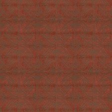 Red Contemporary Drapery and Upholstery Fabric by Groundworks
