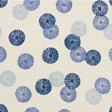 Blue Modern Drapery and Upholstery Fabric by Groundworks