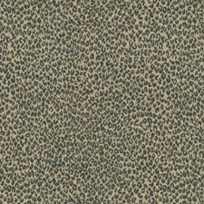 Onyx Animal Drapery and Upholstery Fabric by Groundworks