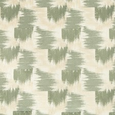 Beige/Jade Modern Drapery and Upholstery Fabric by Groundworks