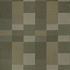 Hunter Check Drapery and Upholstery Fabric by Groundworks