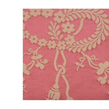 Rose Creme Drapery and Upholstery Fabric by Scalamandre