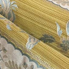 Vieil Or Drapery and Upholstery Fabric by Scalamandre
