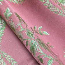 Framboise Drapery and Upholstery Fabric by Scalamandre