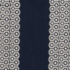 Indigo Drapery and Upholstery Fabric by Highland Court