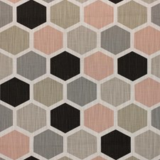 Blush Drapery and Upholstery Fabric by RM Coco