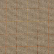 Flax/Rust Drapery and Upholstery Fabric by RM Coco