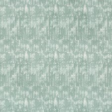 Turquoise/White Contemporary Drapery and Upholstery Fabric by Kravet