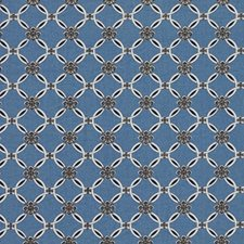 Indigo Drapery and Upholstery Fabric by RM Coco