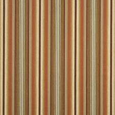 Sand/Terracotta Stripes Drapery and Upholstery Fabric by G P & J Baker