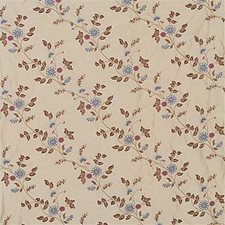 Taupe/B Botanical Drapery and Upholstery Fabric by G P & J Baker