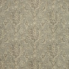 Grey/Ivory/Beige Paisley Drapery and Upholstery Fabric by Kravet